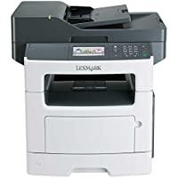 Lexmark MX511DHE Monochrome All-In One Laser Printer (Certified Refurbished)