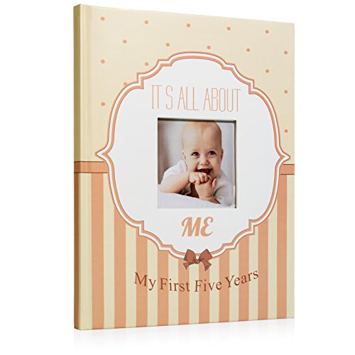 First and Five Year Baby Memory Scrapbook
