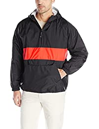 Charles River Apparel Men's Classic Striped Pullover Jacket
