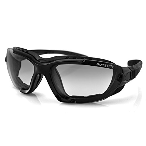 Bobster Renegade Sport Sunglasses, Black Frame/Photochromic - Motorcycle Photochromic Sunglasses
