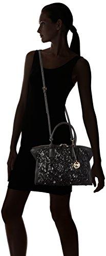 Tosca BluPRINCESS TEA - Bolsa de Asa Superior Mujer Schwarz (BLACK C99)