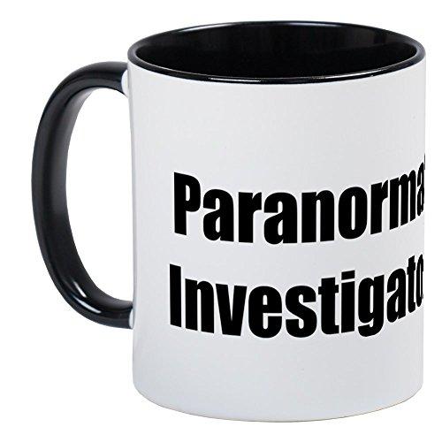 CafePress - Paranormal Investigator Mug - Unique Coffee Mug, Coffee Cup by CafePress