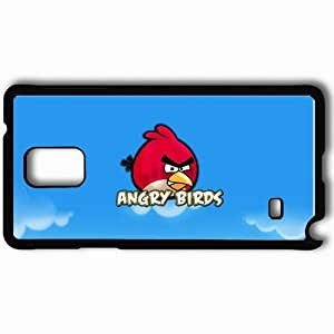 Personalized Samsung Note 4 Cell phone Case/Cover Skin Angry Birds Black