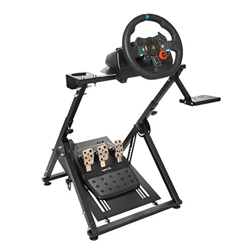 Marada Racing Game Steering Wheel Stand Adjustable