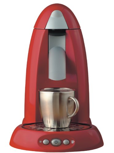 single serving coffee maker red - 9