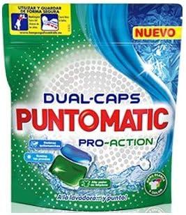 Puntomatic Cápsulas Pro-Action - 8 Paquetes de 12 Lavados: Amazon ...