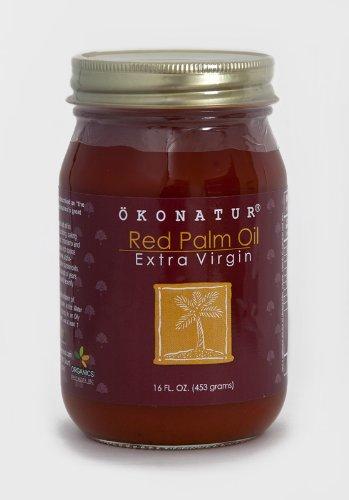 - OKONATUR 100% Extra Virgin Red Palm Oil - 16 Fl Oz