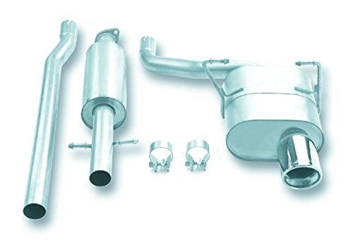 Borla 140030 Cat-Back System Exhaust (Rear System Exhaust Cooper)