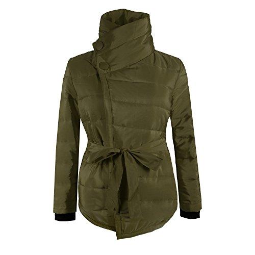 M Cappotti L Verde Esercito Giacca Colori Cappotto Invernale Donna 4 Calda Del Xxl Imbottita Invernali Asimmetrico S Donne Juleya Esterna Xl xZfwpqYAna