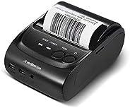 Redlemon Impresora Térmica Portátil Mini con Conexión Bluetooth Inalámbrica, para Tickets y Recibos POS PDV, T