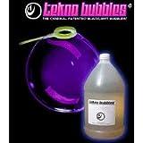Tekno Bubbles - Blue UV Blacklight Reactive - 1 Gallon - 128 Ounces