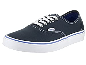 Vans Unisex Authentic Midnight Navy/True White Skate Shoe 4 Men US / 5.5 Women US