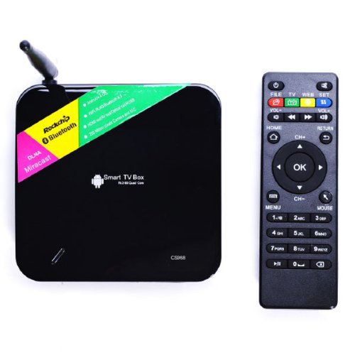 Now offer firmware Download for TV01 / CS968 TV Boxes here | YUNDOO