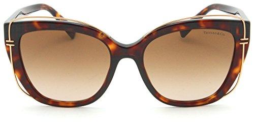 2f88ccd3f9 Tiffany   Co. TF 4148 Women Cat-Eye Sunglasses Brown Gradient 80023B