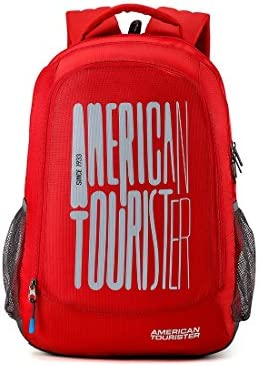 de822e6dd1c546 American Tourister 32 Ltrs Red Casual Backpack (AMT Fizz SCH Bag 03 - RED)