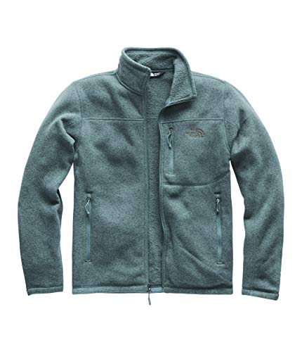 (The North Face Men's Gordon Lyons Full Zip, Storm Blue Heather, Size XL)