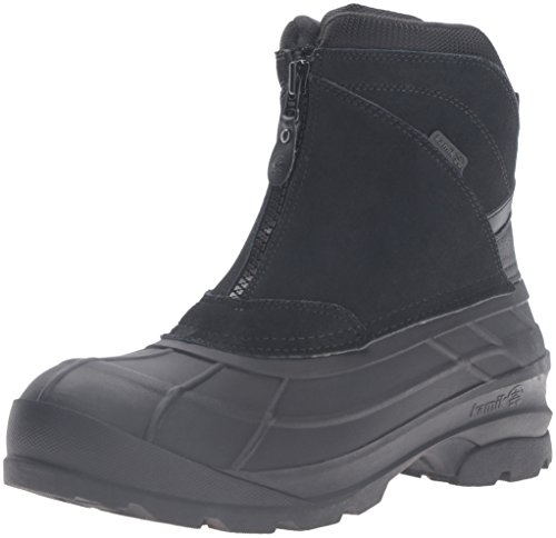 Kamik Men's Champlain2 Snow Boot, Black, 10 M (Best Kamik Mens Winter Boots)