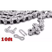 08B-1 Roller Chain For Sprocket 10 Feet With 1 Connecting Link Drive Chain