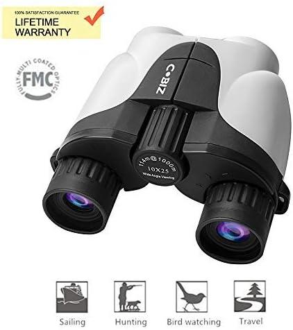 VISSSVI Prism/áticos,8x21 Telescopio Binocular Mini Port/átiles Compactos Ligeros para Adultos y Ni/ños con Vidrio /Óptico y Pel/ícula FMC Verde para al aire libre Birding Viaje Turismo,Caza