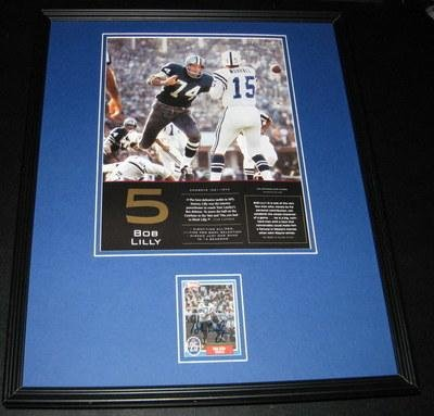 Signed Lilly Photo - Framed 16x20 Poster Display - Autographed NFL Photos