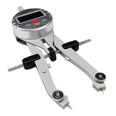 "iGaging 35-CD16 Digi Compass & Divider Digital Measuring Instrument Speed Bow Compass, 3 Way, 6"""