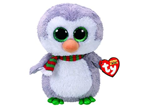 TY Beanie Boo Chilly the Penguin Medium Plush Toy (Claires Exclusive) - Chilly Little Penguin