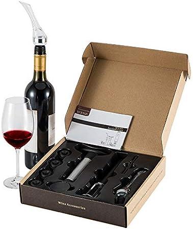 FosFun Bombas à Vin Bombe à Vide en Acier Inoxydable Wine Saver Utilisée pour la Conservation du Vin, la Bombe à Vin EST Utilisée pour eliminer l'air et la Conservation du Vin Sous Vide