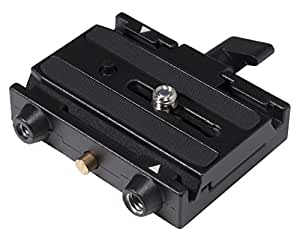 Manfrotto 577 Rapid Connect Adapter with Sliding Mounting Plate for Bogen/Manfrotto Tripods