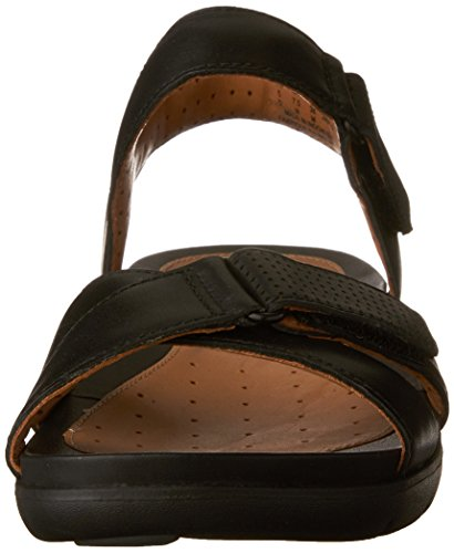 Sandal Womens Saffron Walking Leather Un Black Size Clarks 9 xwqU6SIdwc