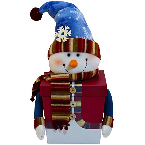 Snowman Tall Gift Box of Holiday Christmas Treats