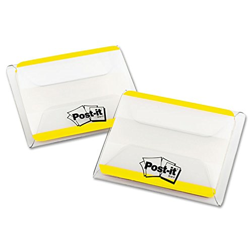 Flat Filing Tabs Durable (Post-it 686F50YW Durable Filing Tabs, Flat, 2
