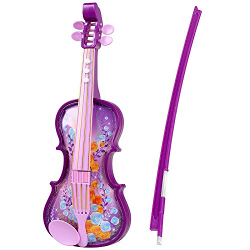 E Support™ Childrens Violin & Bow Kids Musical String Instrument Toy for Kids by E Support