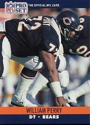 (1990 Pro Set Football Card #455 William)