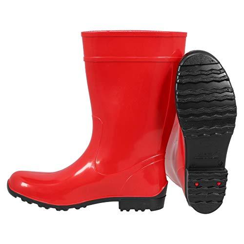 Pioggia Taglie Diversi Per A Stivali Gomma Donne Giardino 36 Krexus Cardiff 42 Da rosso Di Stile Fango wAH7UqC