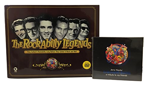 The Rockabilly Legends Coffee Table Book and 2-DVD ()