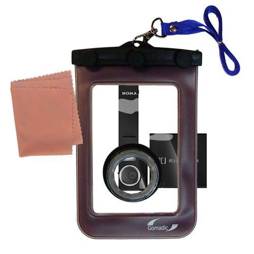 Gomadicアウトドア防水携帯ケースSuitable for the Sony nsc-gc1に使用Underwater – keepsデバイスClean and Dry   B0049KTINC