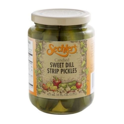 Sechlers Pickle Candied Swt Dill Strip by Sechlers