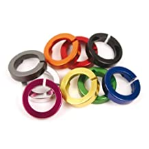 ODI Lock Jaw Bicycle Grip Lock on Clamps with Caps