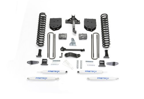 6 Fabtech Suspension Lift (Fabtech K2050 Basic Lift System w/Shocks w/Performance Shocks 6 in. Lift Basic Lift System w/Shocks)