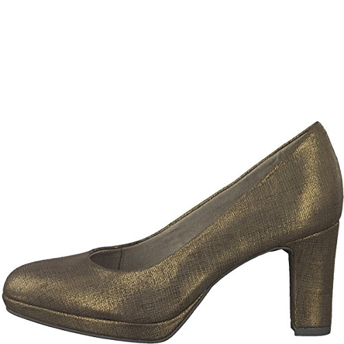 Tamaris Women's 1-1-22420-29/900 900 Court Shoes Metal uzzYaMNONt