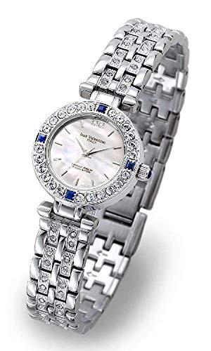 Isaac Valentino IZAX VALNTINO Ladies Jewelry Watches Natural Sapphire Discrimination Written with IVL9100-1 ()