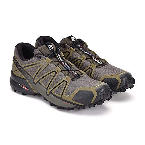 Salomon Men's Speedcross 4 Trail Running Shoes, Grape...