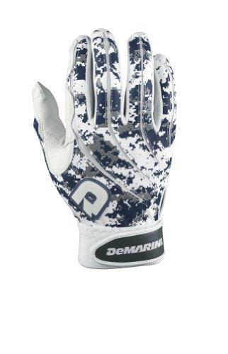 DeMarini Digi Camo Batting Glove, Navy, X-Large