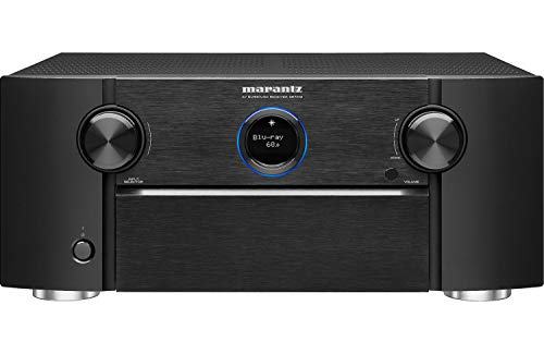 Marantz AV Receiver SR7013 - 9.2 Channel with eARC | Auro 3D, IMAX Enhanced, Dolby Surround Sound - 3 Zone Power| Amazon Alexa Compatibility & Online Streaming| Works with Home Automation Systems