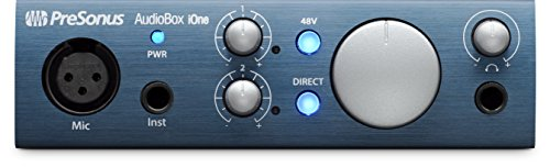 PreSonus AudioBox iOne 2x2 USB/iPad Recording System