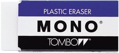 MONO PLASTIC ERASER 3piece pack JAPAN Import PE04A