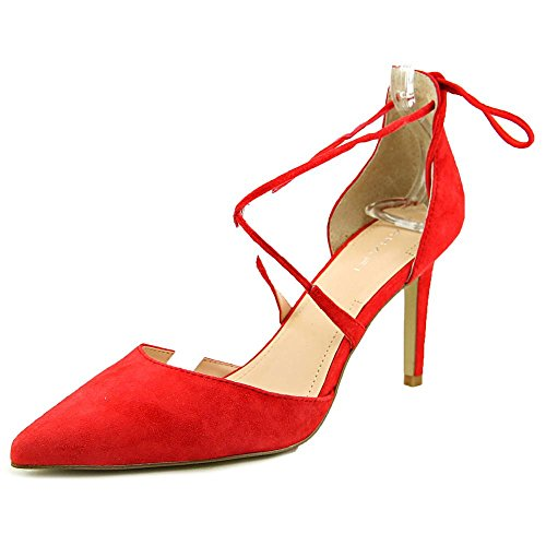Tahari Blair Women Pointed Toe Suede Heels chic