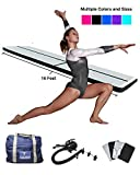 Gymtastic Professional Air Track – Inflatable Gymnastics Tumbling Mat – Practice Gymnastics, Cheerleading, Tumbling, Martial Arts