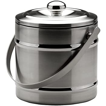 Amazon Com Miu France Stainless Steel Double Wall Ice