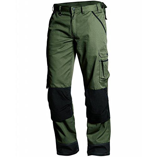 Blaklader 145418354699D116 Garden Trousers, Size 44/32, Army Green/Black by Blaklader